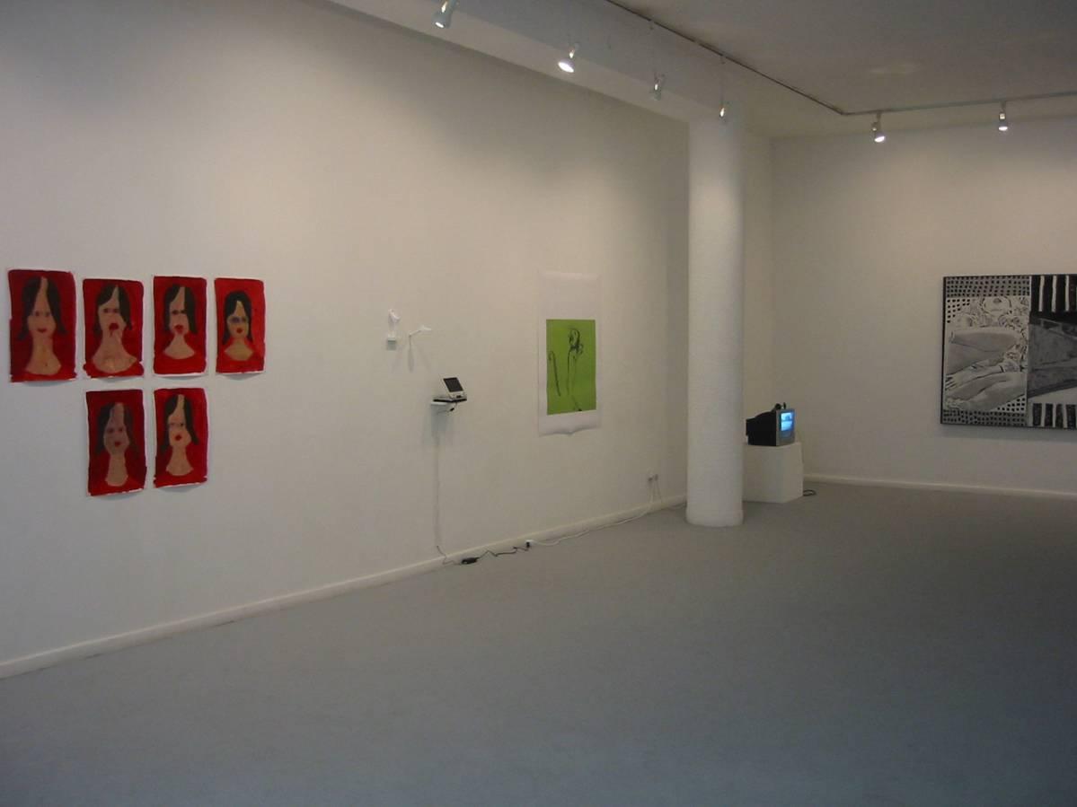 Dvir Group Show, 2006 | exhibition views-1