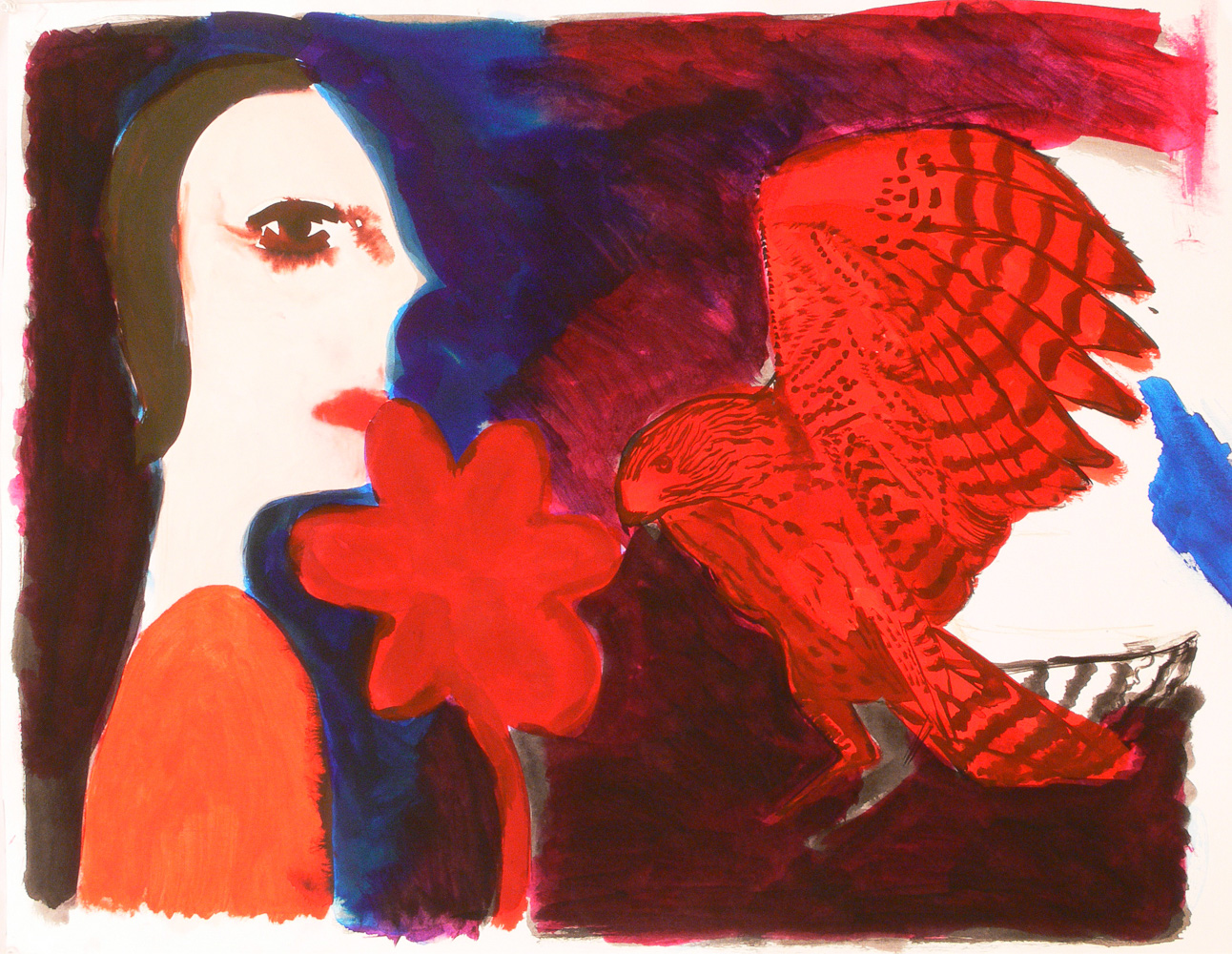 A girl, a dance and a bird, 2011