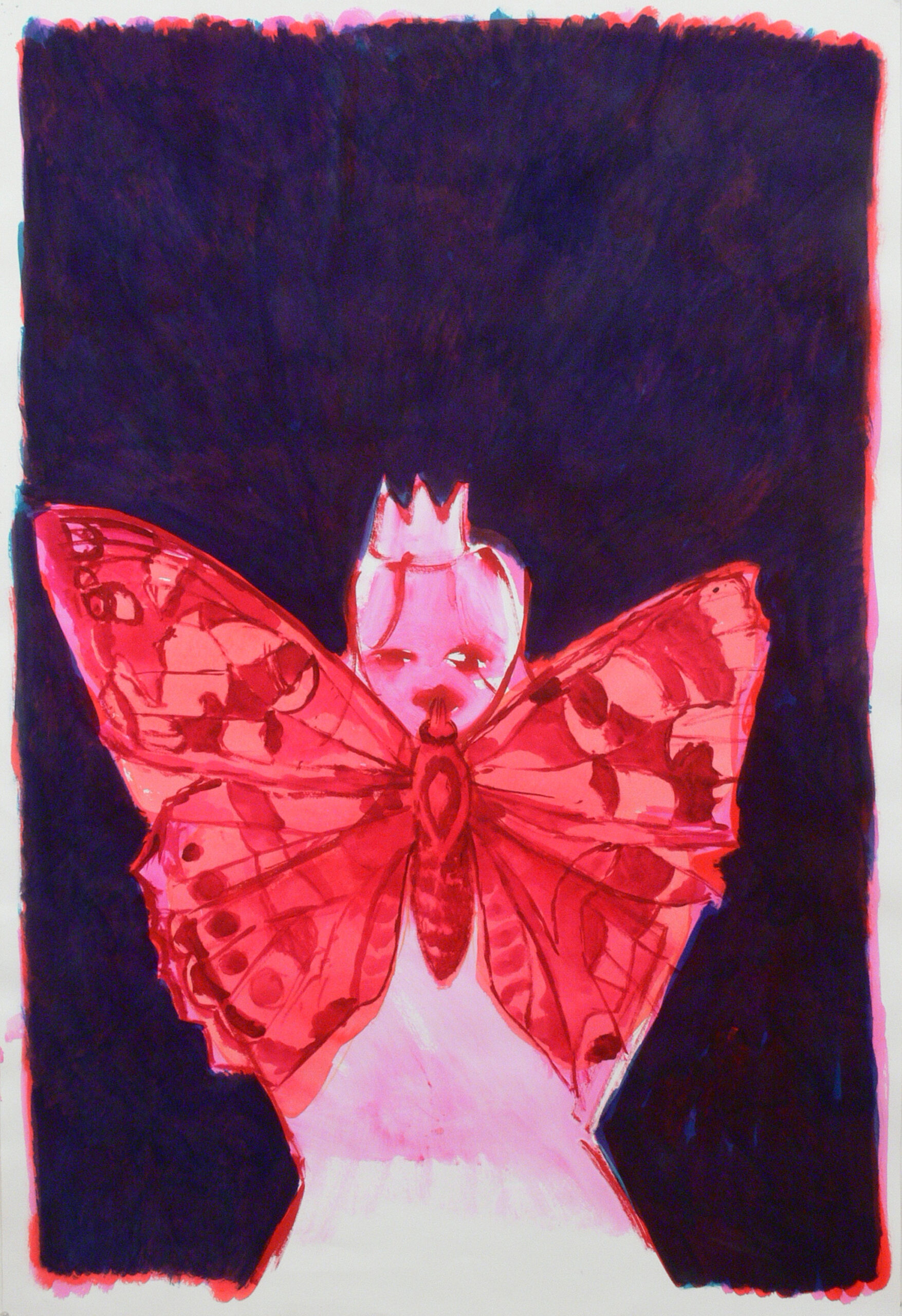 A queen and a butterfly, 2013