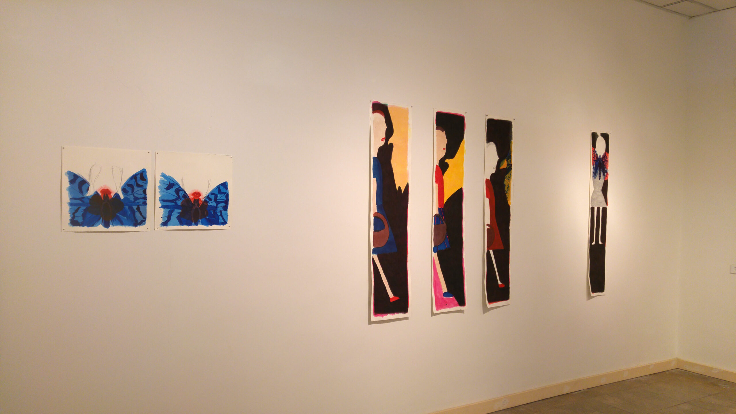 exhibition view givat haim, 2017
